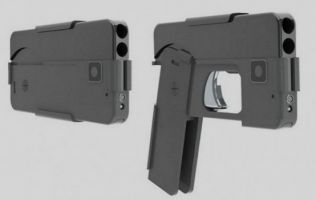 This concealed gun is made to look just like an iPhone