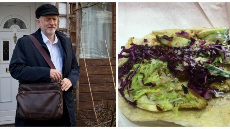 We went to Jeremy Corbyn's favourite kebab shop for a falafel