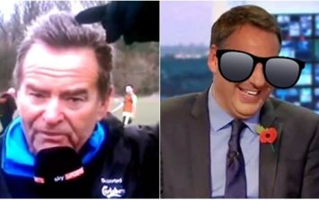 Jeff Stelling shares classic story about Paul Merson, a canal and some missing sunglasses