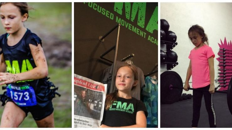 Meet Milla Bizzotto: The 9 year old acing Navy SEAL obstacle courses