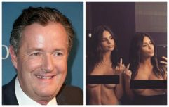 Piers Morgan believes Kim Kardashian's latest topless selfie is the end of feminism