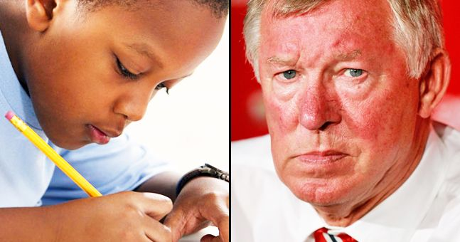This letter from an 11-year-old to Fergie back in 2005 is brilliant...and he even got a reply