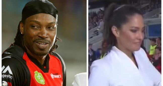 VIDEO: Chris Gayle's decision to ask a reporter out live on TV has backfired