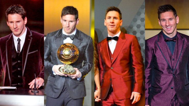 PICS: Messi's rumoured suit for the Ballon d'Or could be his most sensational yet
