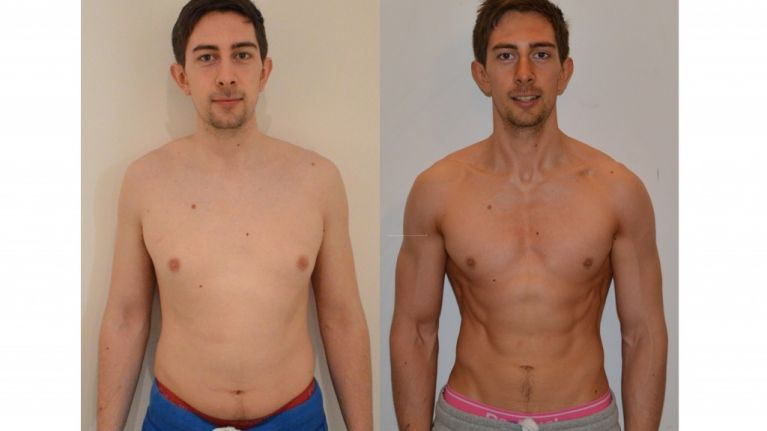 This Londoner shed 75% of his body fat in 12 weeks by simple diet change (Pic)