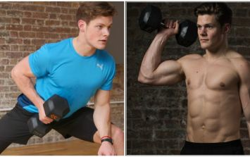 Hardcore muscle building workout with former Royal Marine Jay Copley (Video)