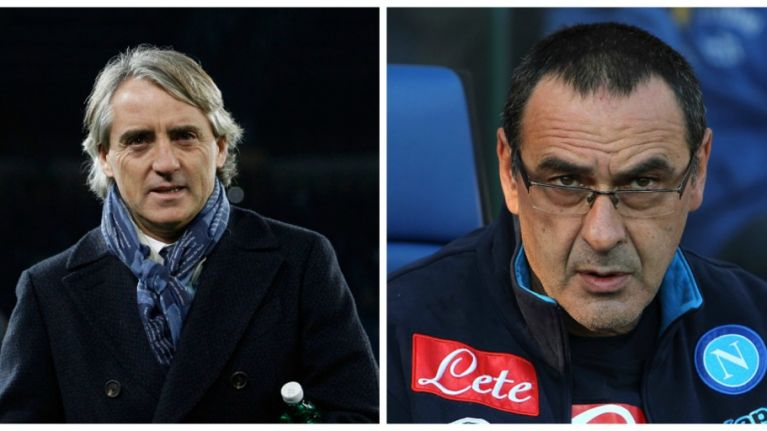 VIDEO: Roberto Mancini reacts to alleged homophobic abuse from Napoli manager