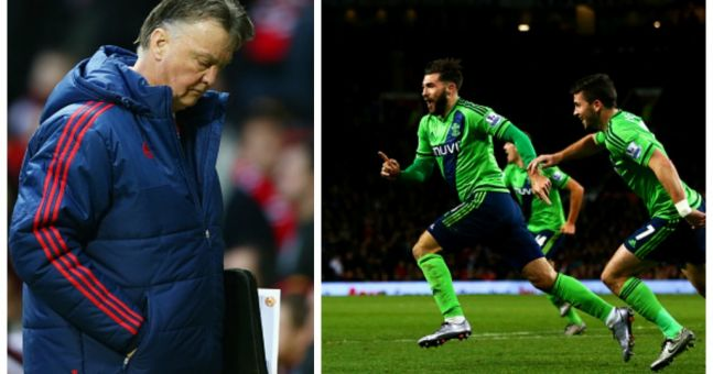 Twitter reaction: Manchester United fans rage as Charlie Austin scores late winner for Southampton