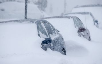 VIDEO: Stunning time lapse shows the extent of the blizzard and snowfall in the US