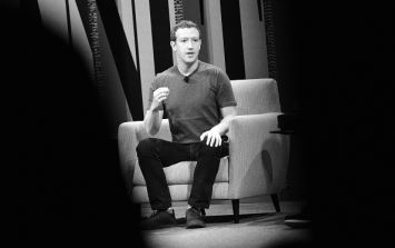 PIC: Mark Zuckerberg's wardrobe really is lacking something
