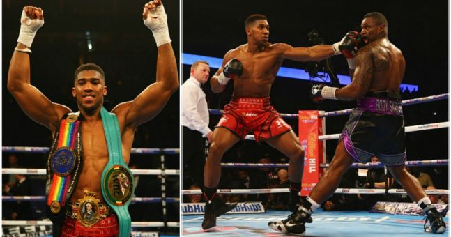 Anthony Joshua offered huge heavyweight world title fight in April