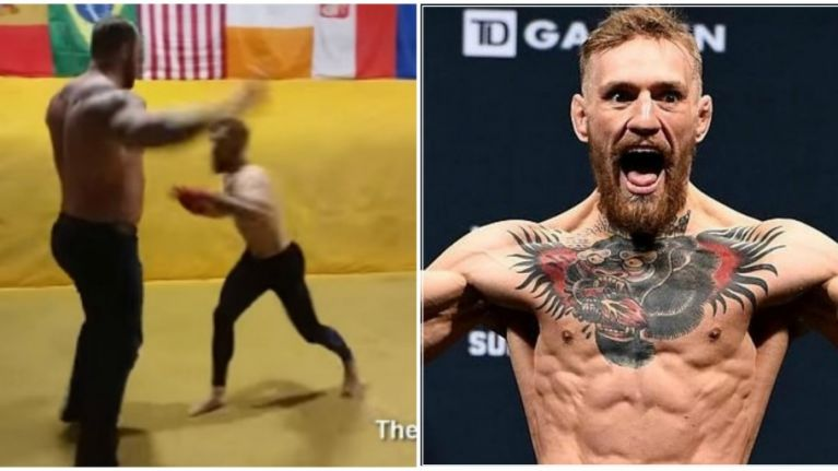 VIDEO: The Mountain reveals what taking a punch off Conor McGregor is actually like