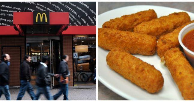 PICS: McDonald's mozzarella sticks are missing a certain something