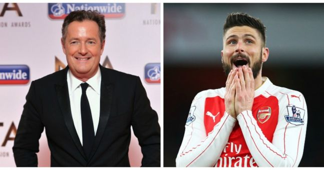 Piers Morgan promises to do a naked conga if Olivier