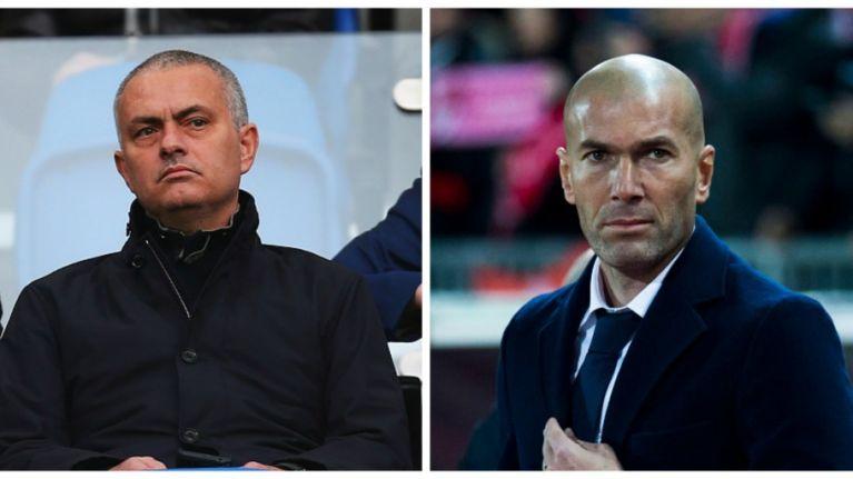 Image result for zidane and mourinho