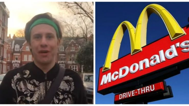 VIDEO: This guy ate a meal at every McDonald's in London in one day