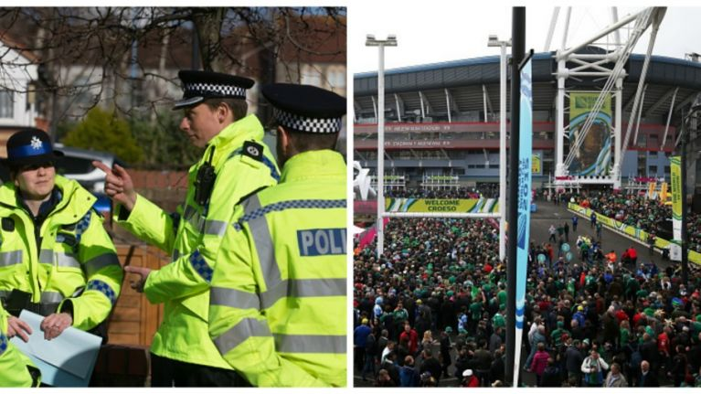 """Welsh police rant about """"nightmare"""" rugby fans being worse than football supporters"""