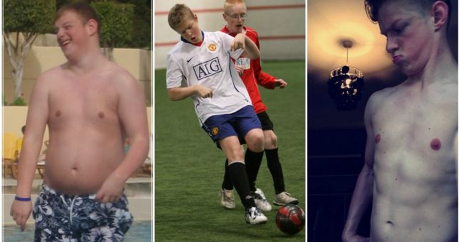 Former Manchester United footballer gets ripped after losing 5 stone with this diet plan (Pics)