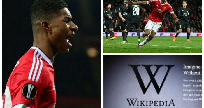 Who Is Marcus Rashford You Won T Find Out Much From His Wikipedia Page Joe Co Uk