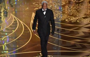 VIDEO: Just Morgan Freeman being cool as f**k on stage at the Oscars last night