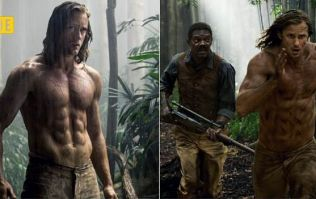 The 7,000 calorie diet that got Tarzan star totally shredded