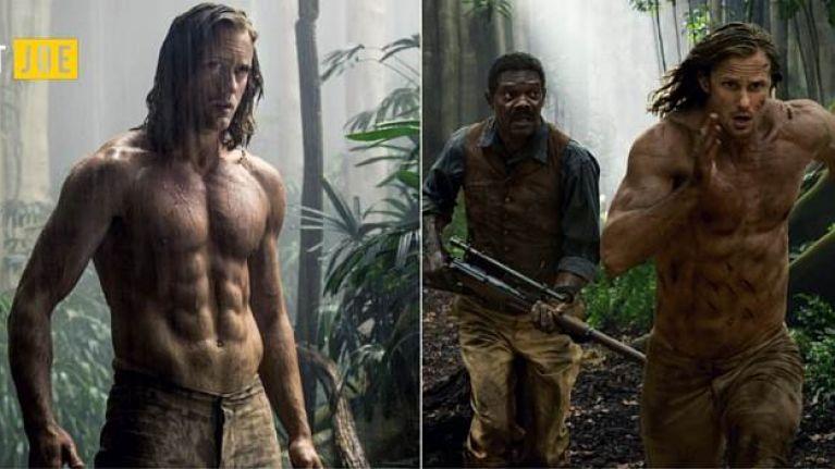 The 7,000 calorie diet that got Tarzan star totally shredded