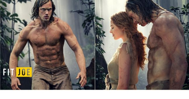 How this Legend of Tarzan training plan forged Alex Skarsgard's incredible physique
