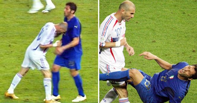 Marco Materazzi finally admits what he said to Zinedine Zidane