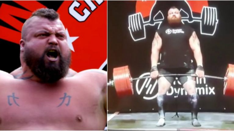 Eddie Hall just deadlifted 500kg and obliterated the world record