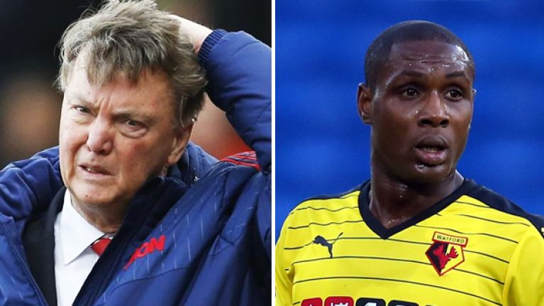 Desperate Van Gaal Tried To Buy Ighalo In January For £35m