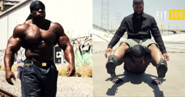 this is what ex-con bodybuilder kali muscle looked like as a, Muscles