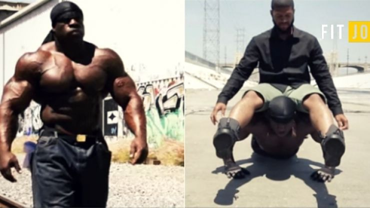 This is what ex-con bodybuilder Kali Muscle looked like as a teenager