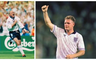 People are furious at a British tabloid for printing pictures of Paul Gascoigne naked