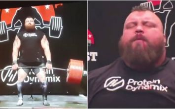 Eddie Hall's monstrous 500kg deadlift had some horrific-sounding consequences