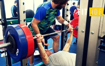 This old school bench press method will make you stronger