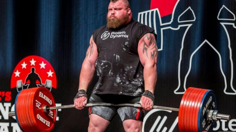 How Eddie Hall trained to pull the monster 500kg world