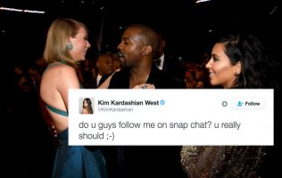 Kim Kardashian shares a video of a call between Taylor Swift and Kanye discussing *those* 'Famous' lyrics