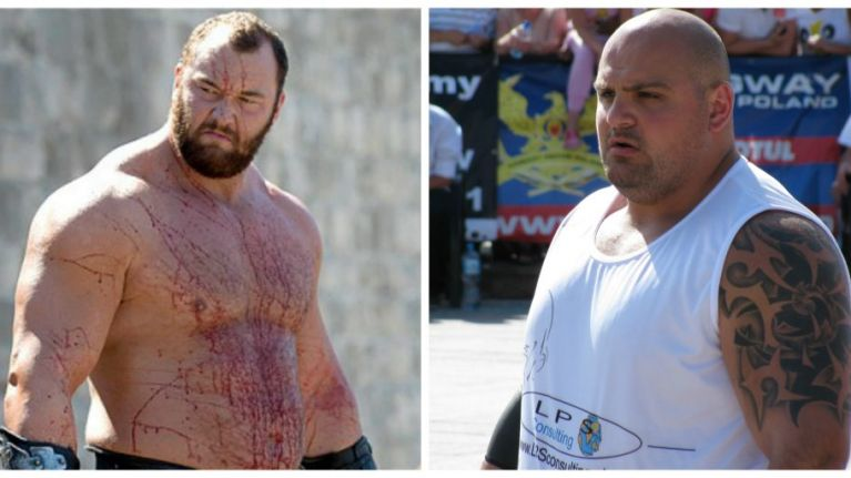 Swindon man beats The Mountain to Europe's Strongest Man title