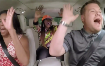Here is Michelle Obama's full 'Carpool Karaoke', and it's brilliant, of course
