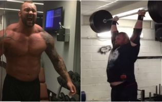 Eddie Hall annihilates The Mountain at 150kg strength challenge