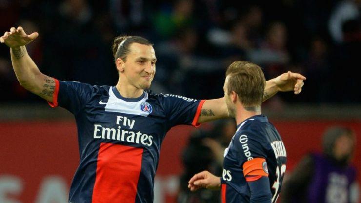 Zlatan Ibrahimovic confirms that David Beckham wants him for his MLS side
