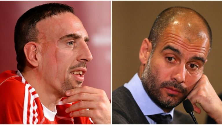 Franck ribery just cant stop criticising pep guardiola joe franck ribery just cant stop criticising pep guardiola voltagebd Images