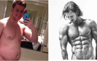 What arnold schwarzeneggers classic bodybuilding diet looked like this burnley man got absolutely shredded by changing his dangerous junk food habit malvernweather Image collections