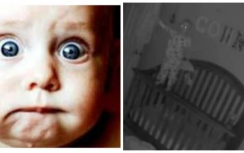 This eerie viral baby video is like a real life Paranormal Activity