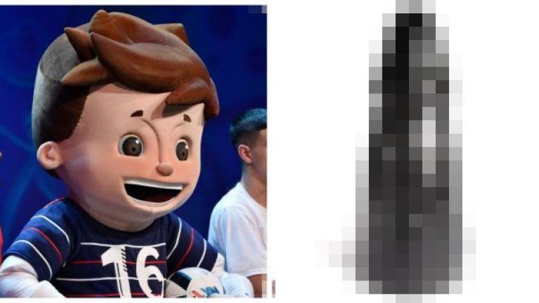 The French Euro 2016 mascot has a very NSFW namesake