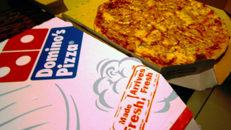 This is how a guy managed to hack the Domino's app to get himself pizza for free