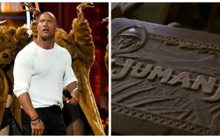 The Rock has just teased what his Jumanji character will look like