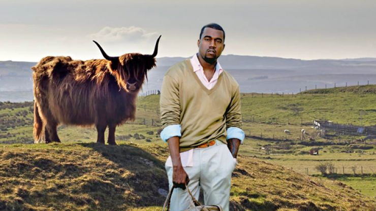 This Scottish Paper Couldn T Give A Toss That Kanye West Visited Skye Joe Co Uk