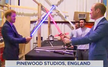Royal tour of Star Wars set is greeted with predictable p*sstakery