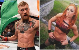 Irish wrestler invites Conor McGregor to join her in the WWE